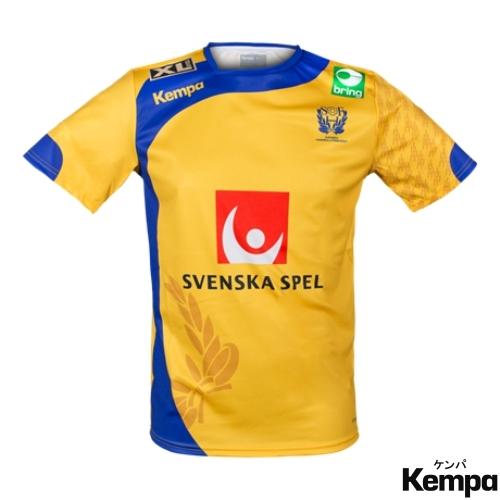 ケンパ ハンドボール スウェーデン代表 スポンサーロゴ入りユニフォーム 2017/18