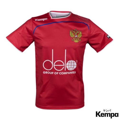 ケンパ ハンドボール ロシア代表 スポンサーロゴ入りユニフォーム 2017/18